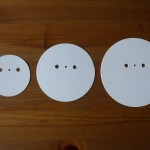 1, 2, 3 tier round backing discs